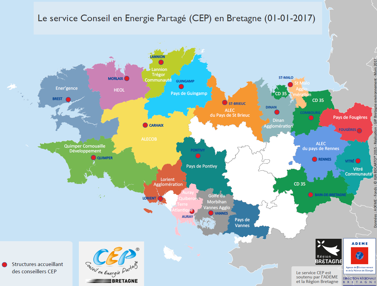 carte structures cep 2017